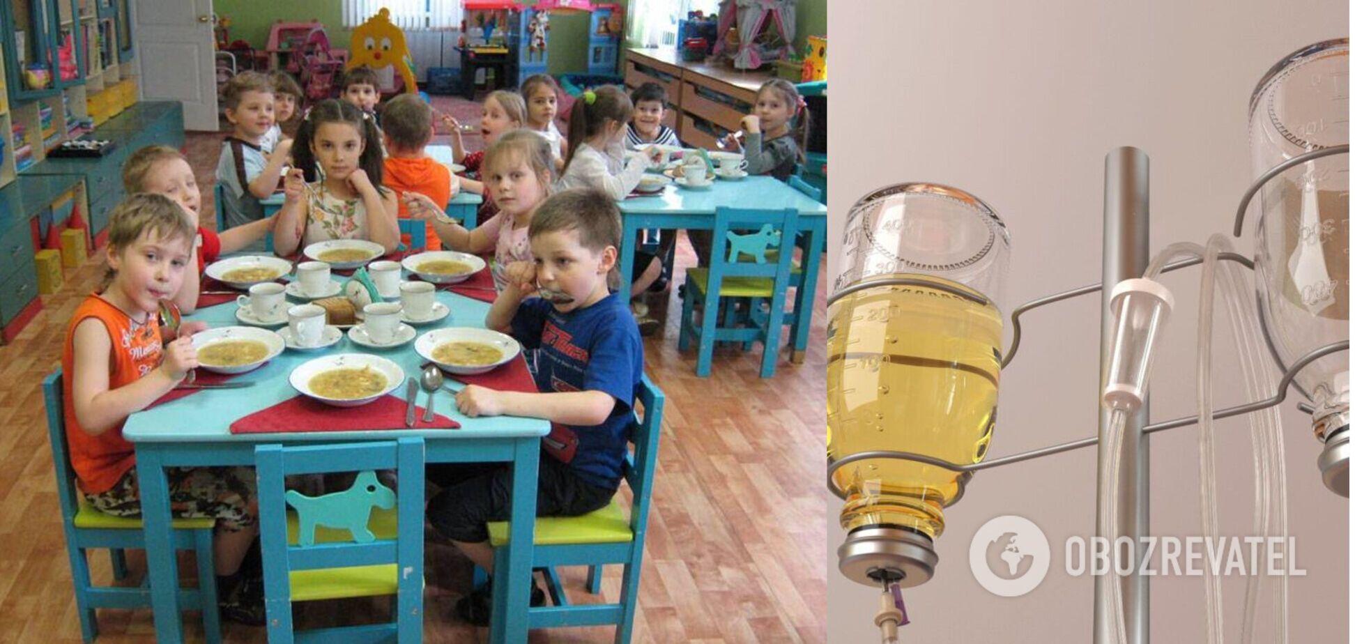 У Запорізькій області сталося масове отруєння дітей у садку
