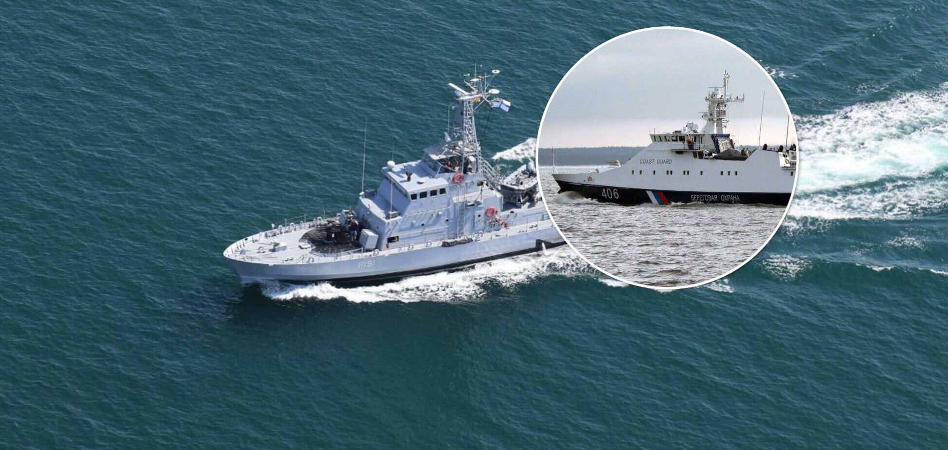 Военные корабли РФ устроили провокацию в Черном море во время учений ВМС ВСУ