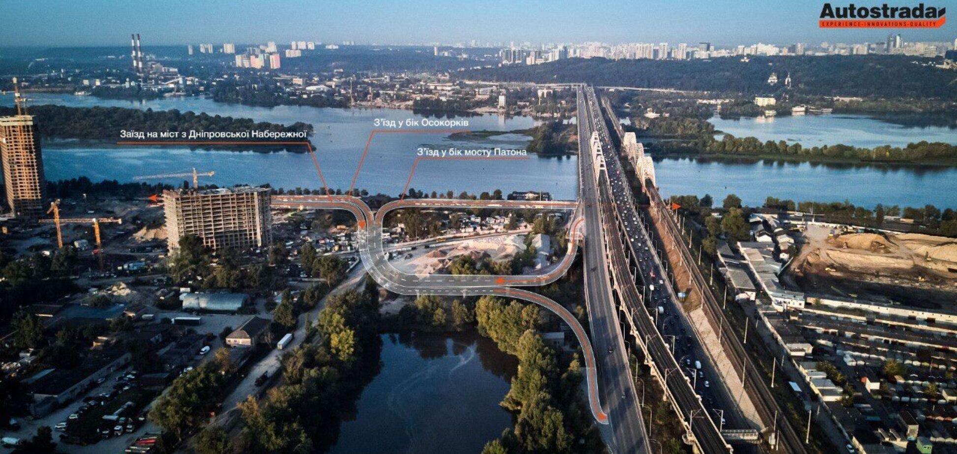 Развязку на Дарницком мосту намерены достроить до конца 2022 года – СМИ