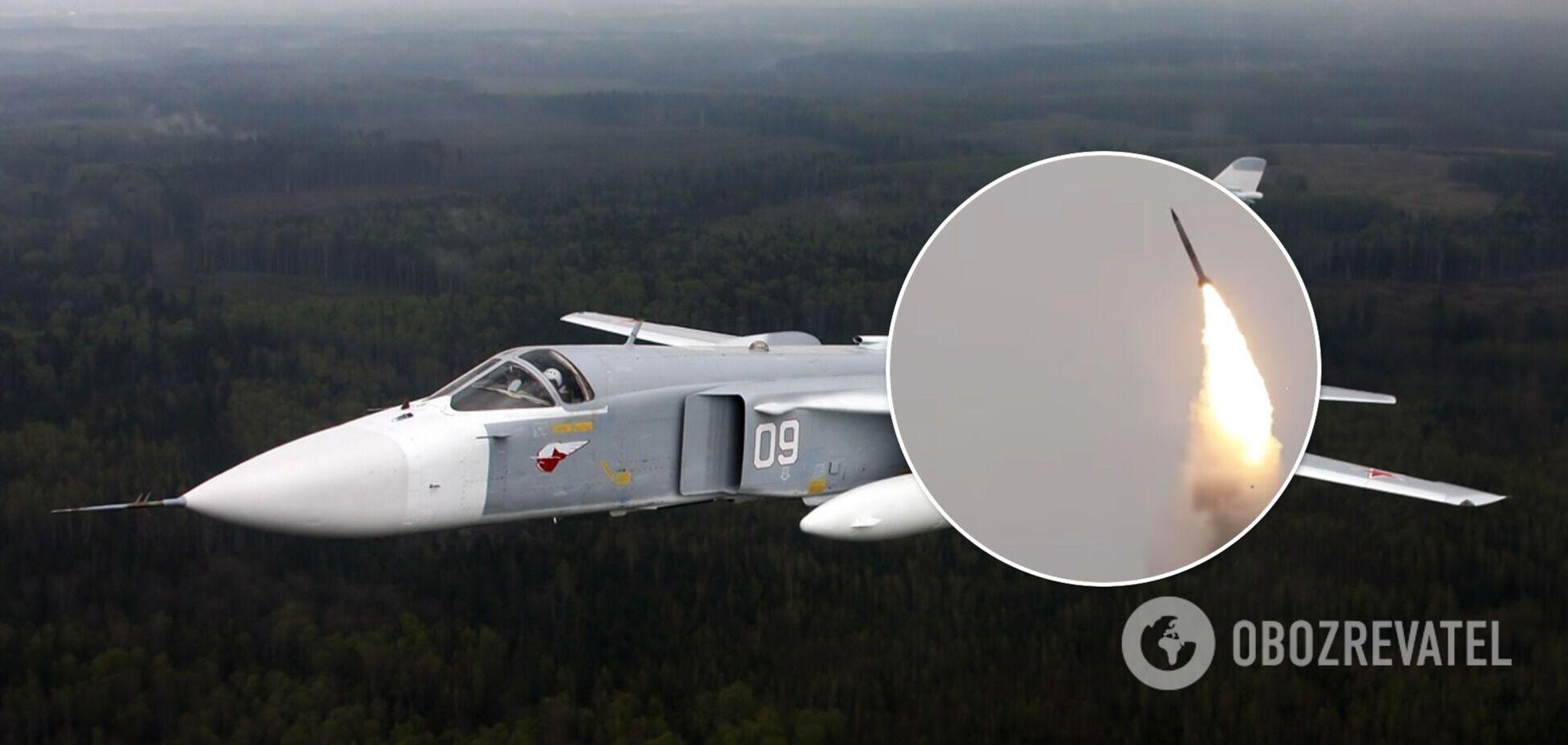 Российские самолеты устроили провокацию в небе во время учений ВСУ. Видео