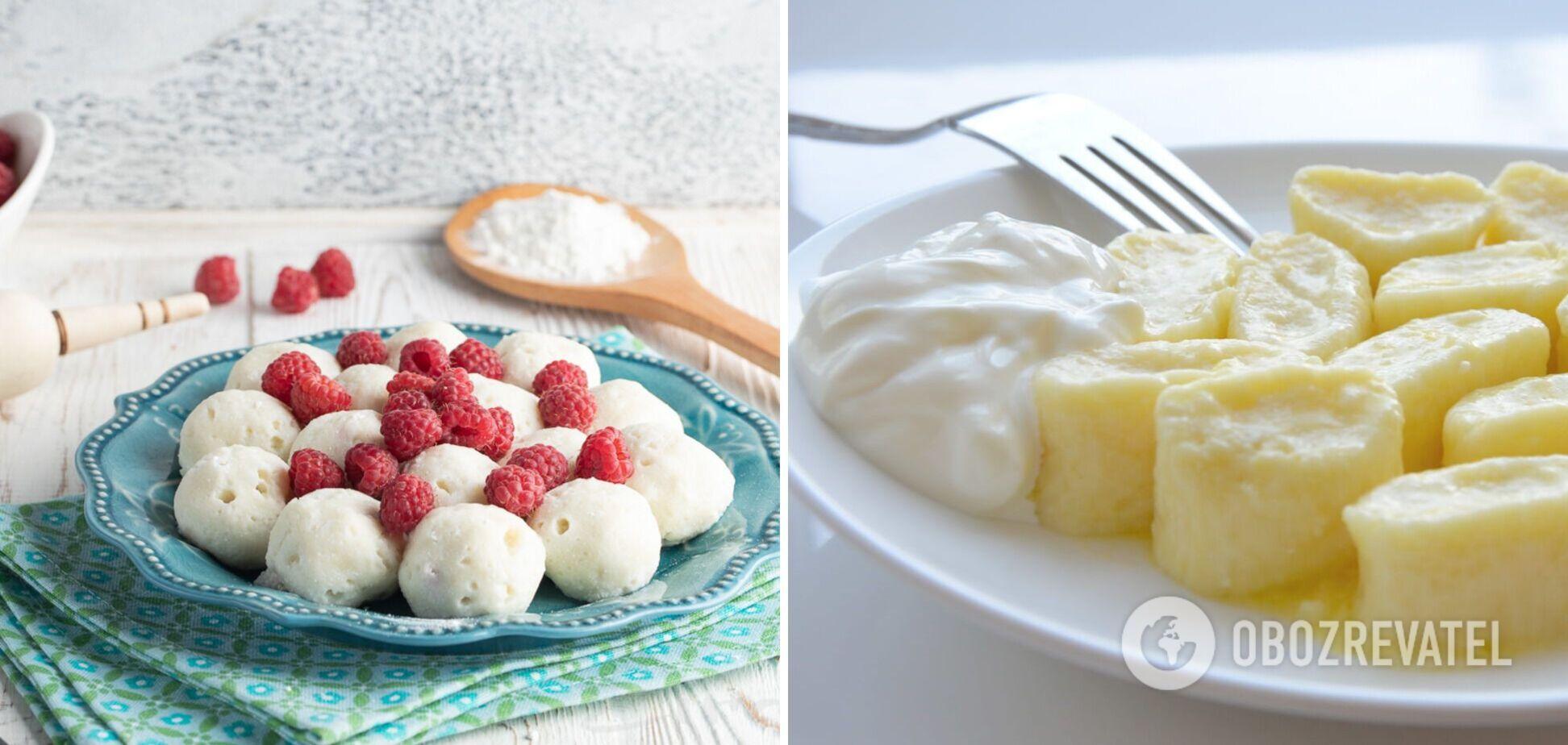 Ленивые вареники с творогом – вкусная альтернатива сырникам на завтрак