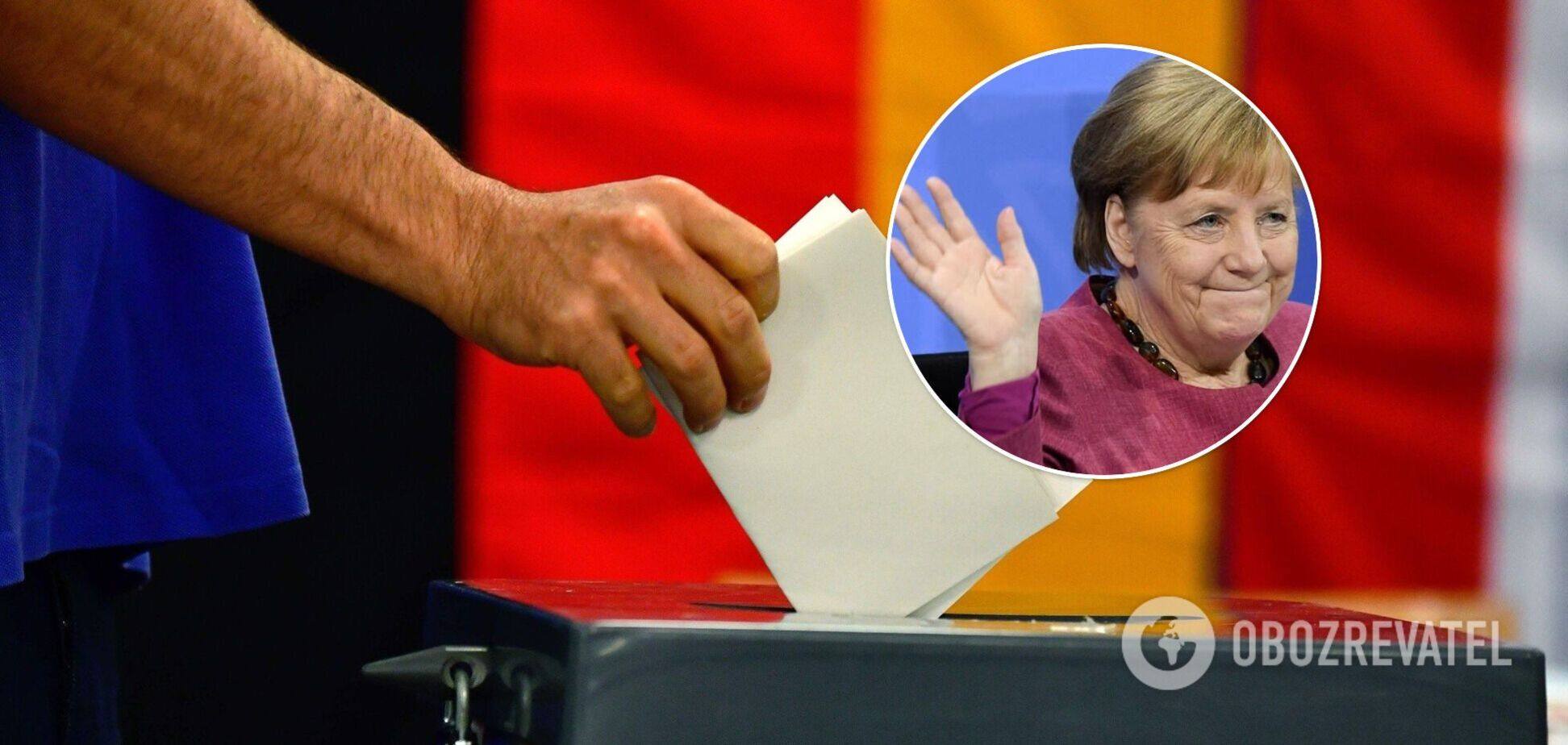 В Германии за два дня до выборов партия Меркель сдала позиции