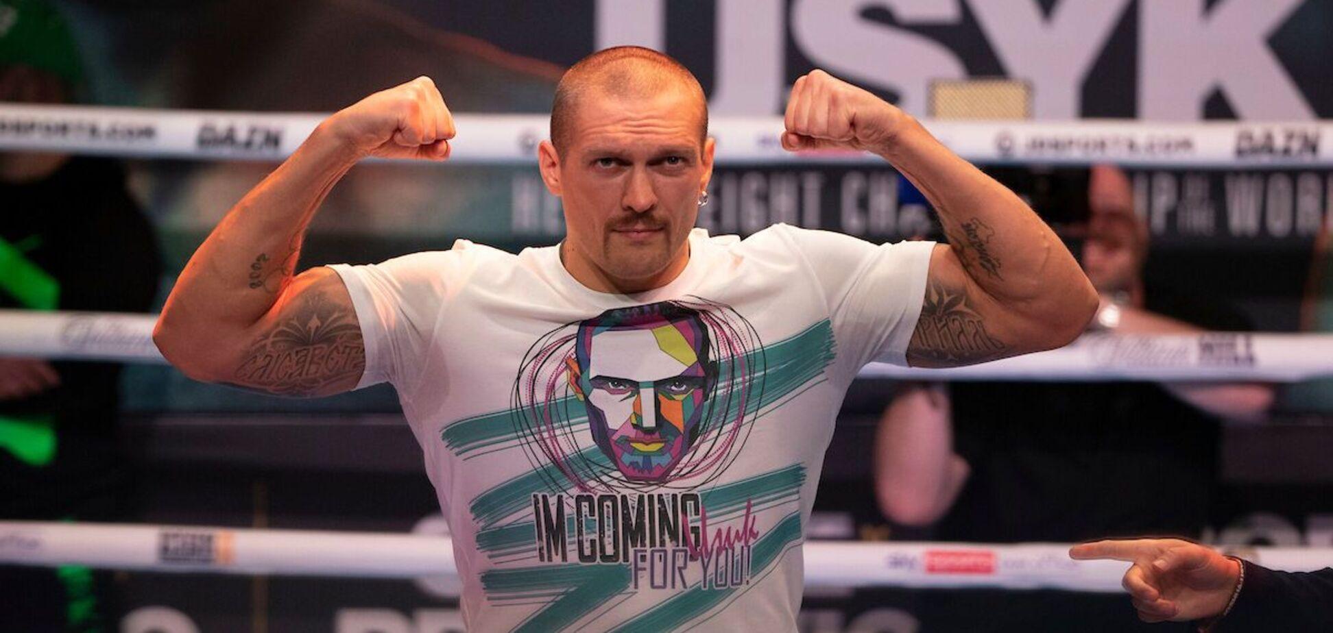 Усик взяв рекордну вагу в кар'єрі перед боєм з Джошуа