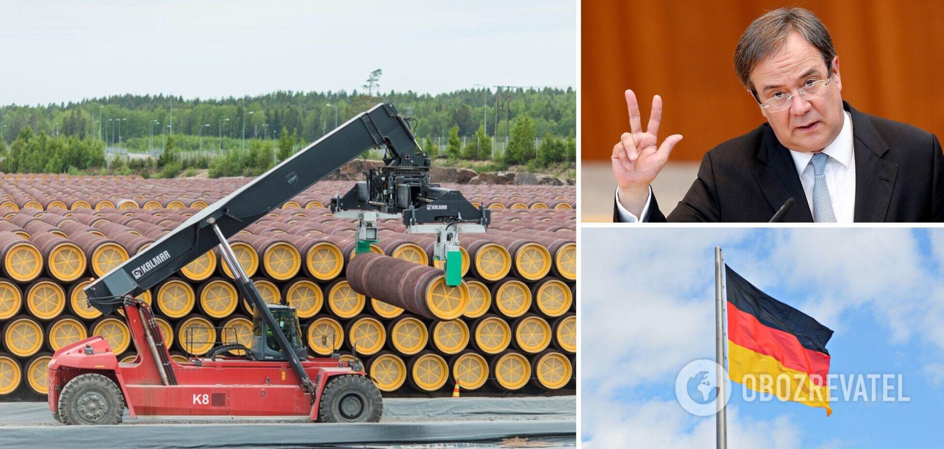 Лашет заявил, что 'Северный поток-2' остановят, если пострадает Украина