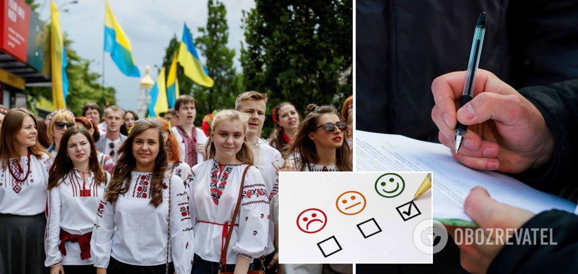 Украинцы испытывают страх перед будущим, но молодежь живет с надеждой – опрос
