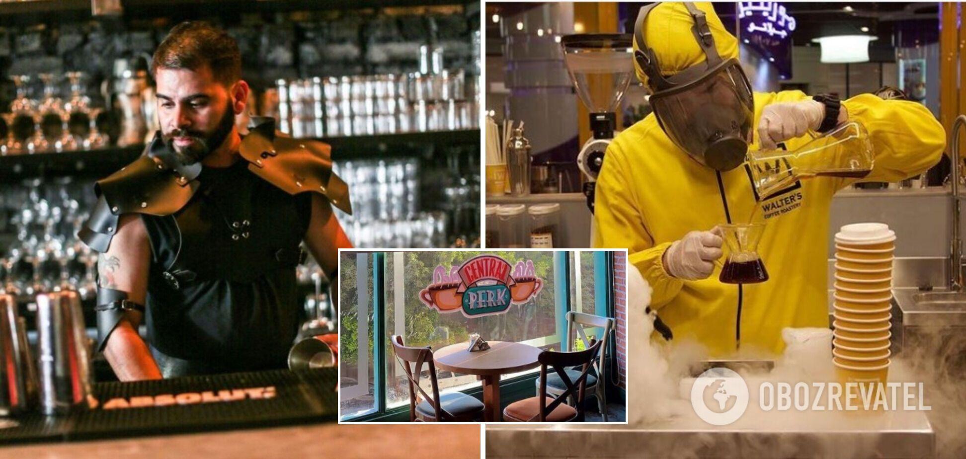 'Ігри престолів' і 'Друзі': як виглядають кафе за мотивами відомих серіалів і фільмів. Фото