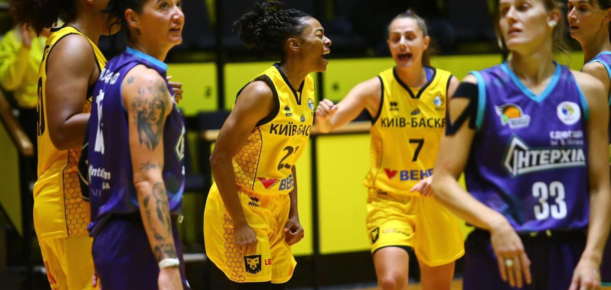 'Киев-Баскет' обыграл 'Интерхим' в первом матче женской Суперлиги