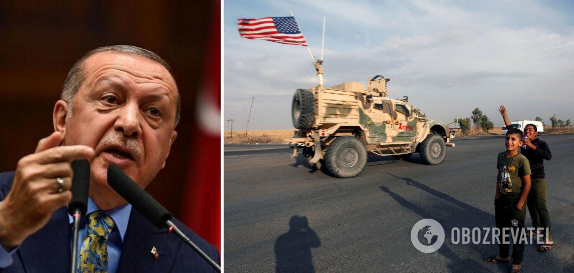 Эрдоган предложил США вслед за Афганистаном вывести армию из Сирии и Ирака