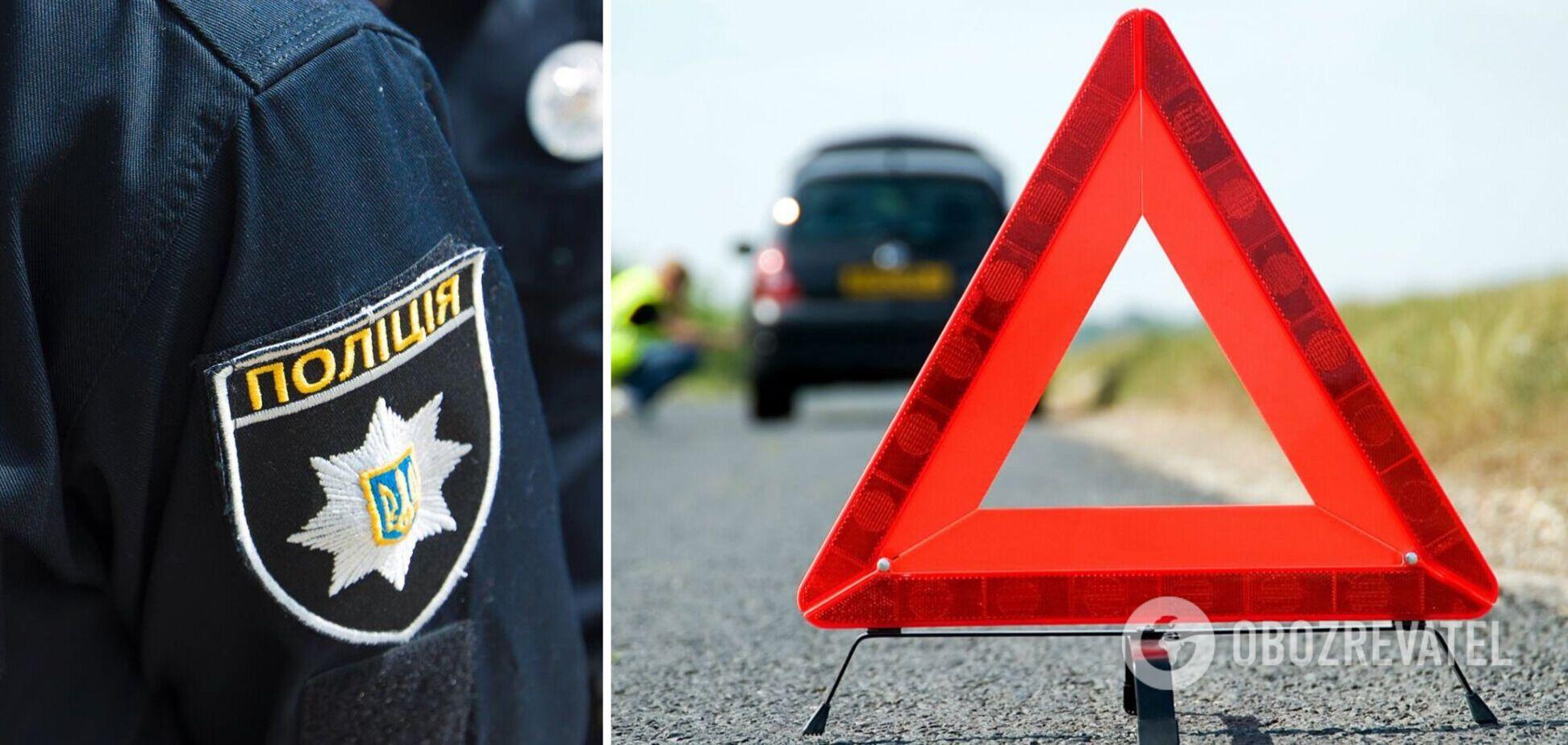Авто с полицейскими влетело в опору моста на Одесщине: четверо пострадавших