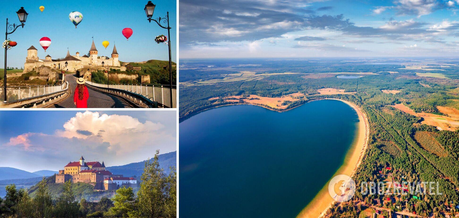 В Україні сотні мальовничих туристичних локацій