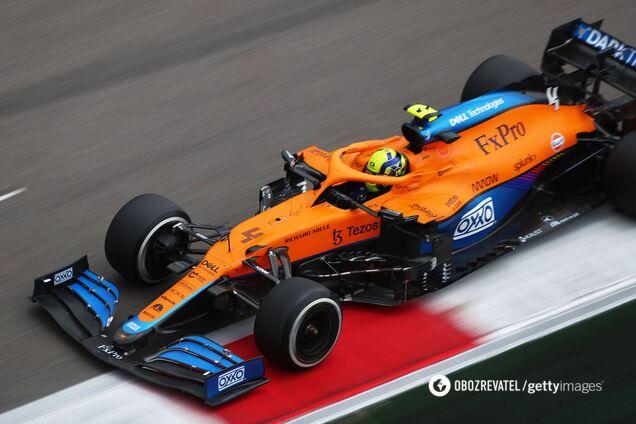 Ландо Норрис на Гран-при Сочи