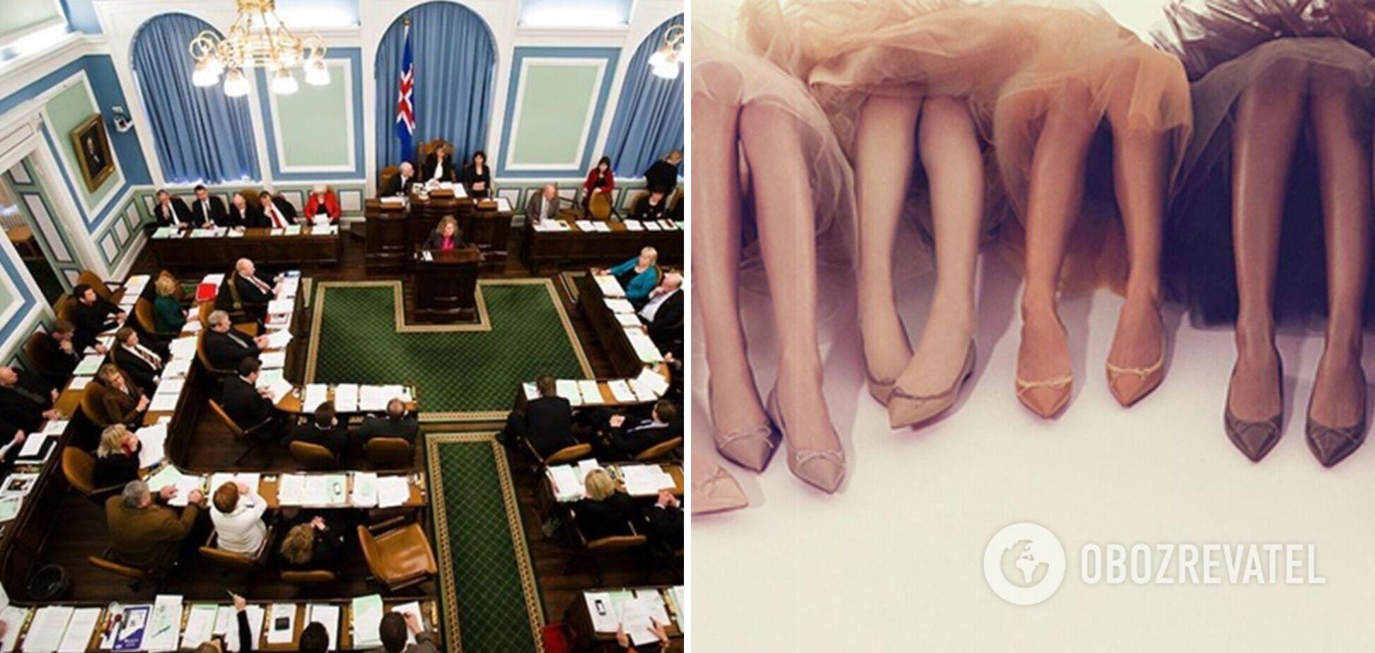 В парламенте Исландии впервые в Европе большинство мест могут занять женщины