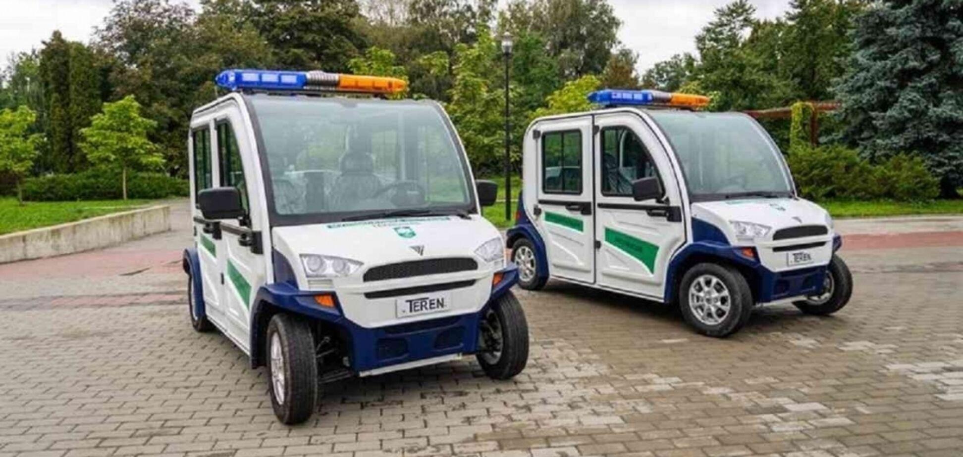 Тернопольские полицейские будут ездить на электромобилях