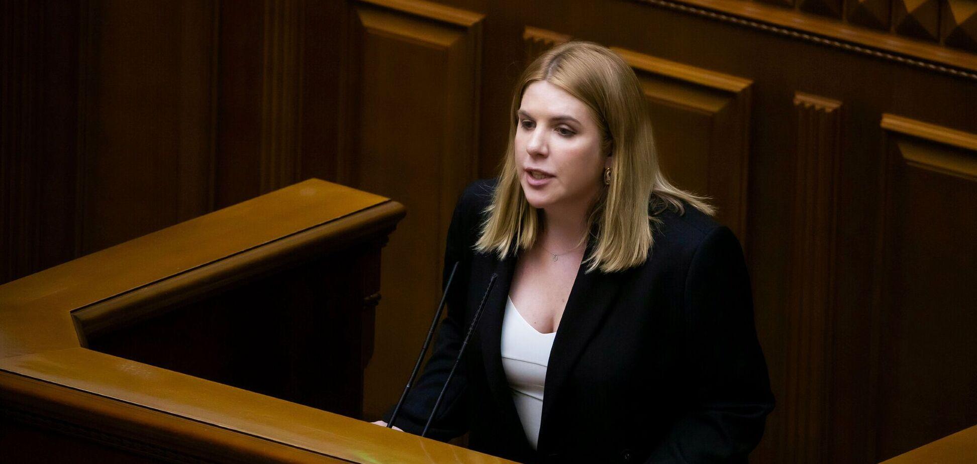Лидер партии 'Голос' Кира Рудик