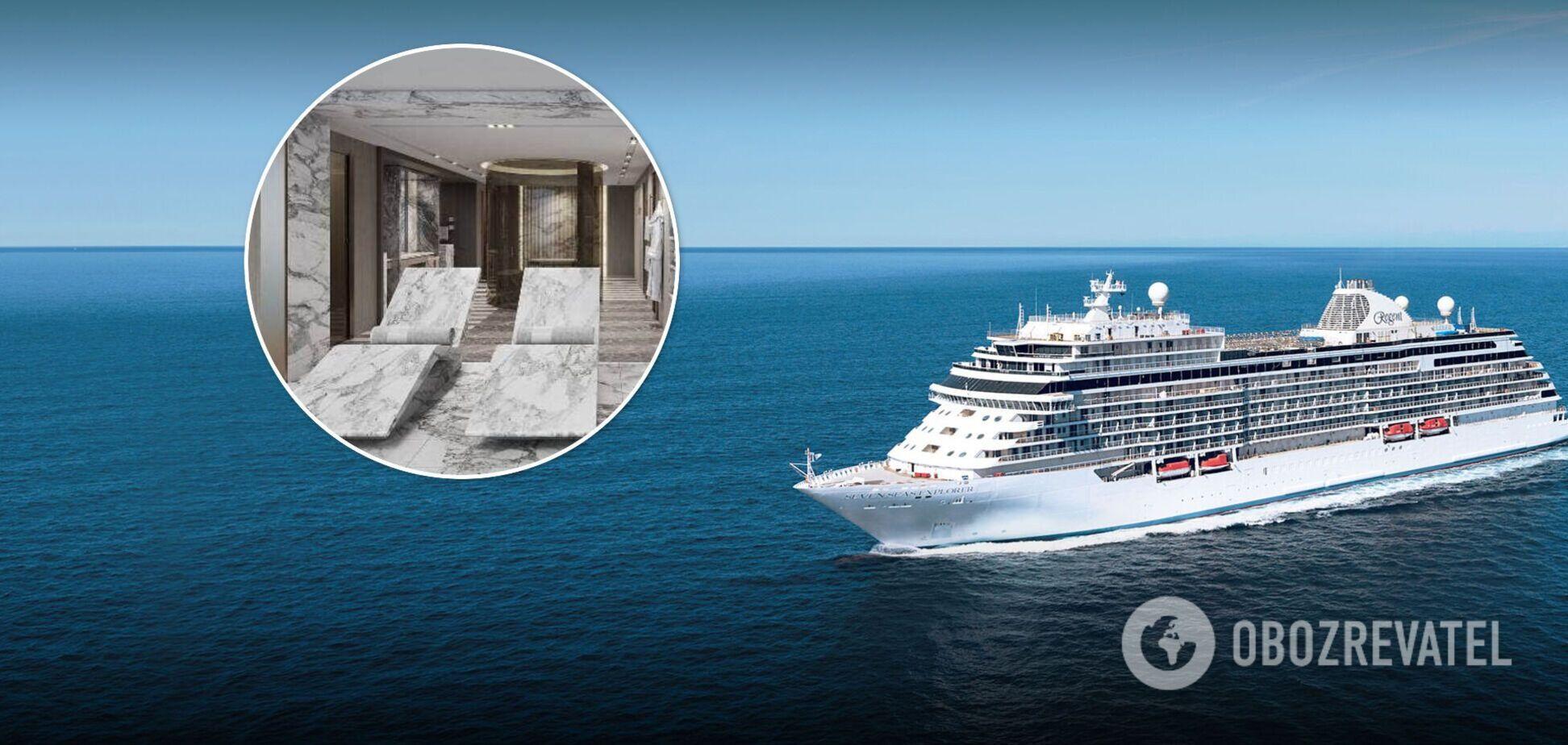 15 тысяч долларов за ночь: как выглядит каюта одного из самых роскошных круизных лайнеров мира. Фото