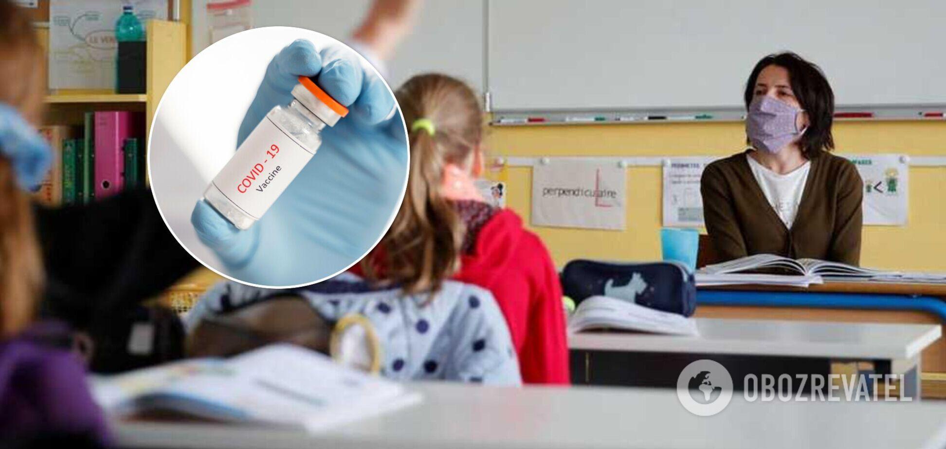 Женщина 'нашла' связь между вакцинацией учителей и головной болью ребенка