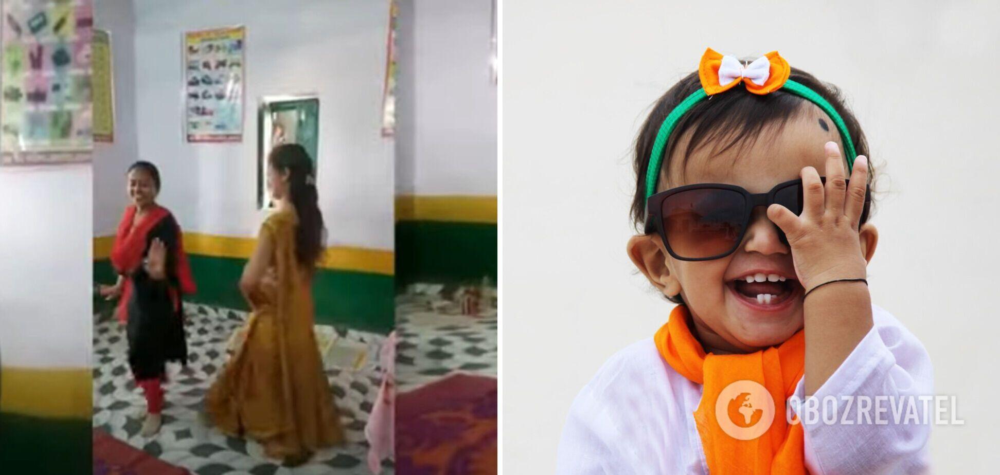 В Индии пятерых учительниц отстранили за 'неподобающие' танцы на уроке. Видео
