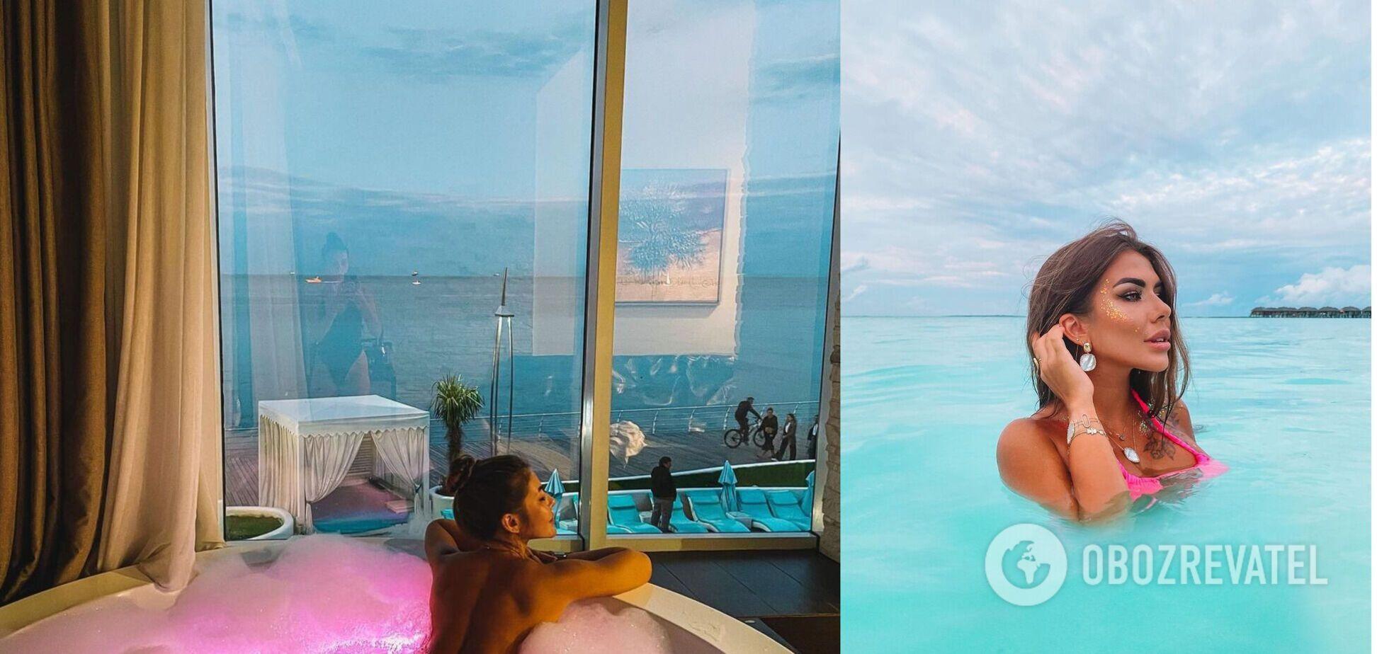 Софія Стужук улаштувала голу фотосесію у ванній. Фото 18+