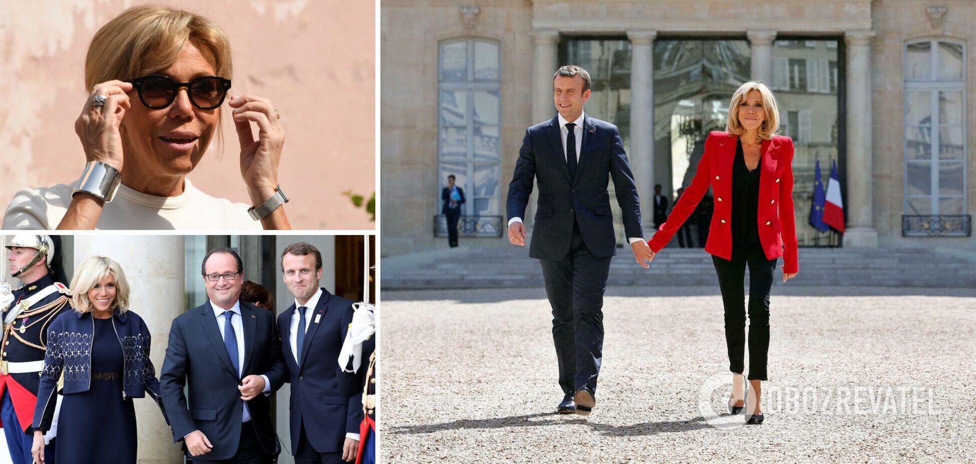 Мини не по протоколу и не только: разобрали стиль первой леди Франции Брижит Макрон
