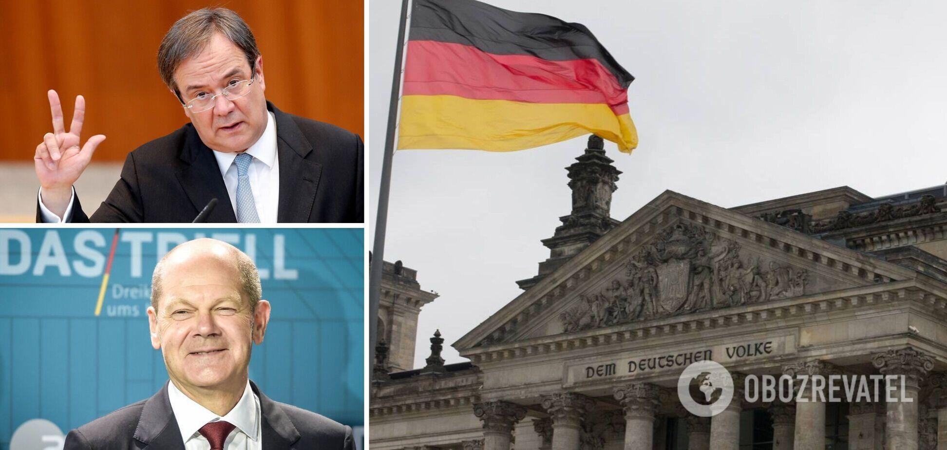 Олаф Шольц или Армин Лашет в итоге займет место канцлера Германии