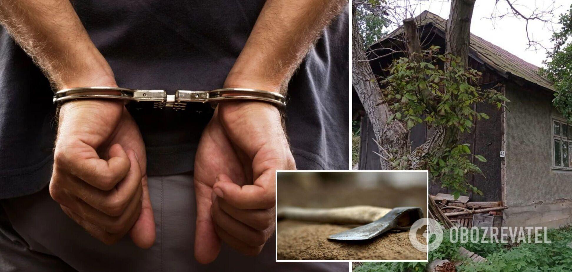 На Львовщине 22-летний парень убил мужчину топором: ему грозит до 15 лет лишения свободы. Фото