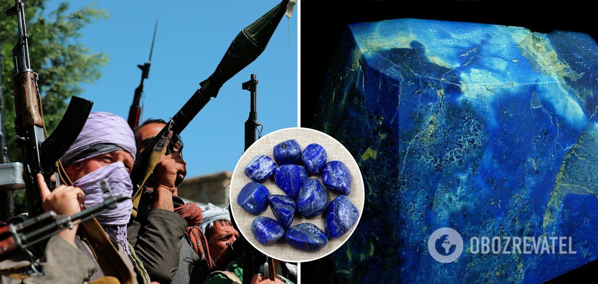 'Талибан' контролирует мировые запасы лазурита: что известно о 'лечебных кристаллах'