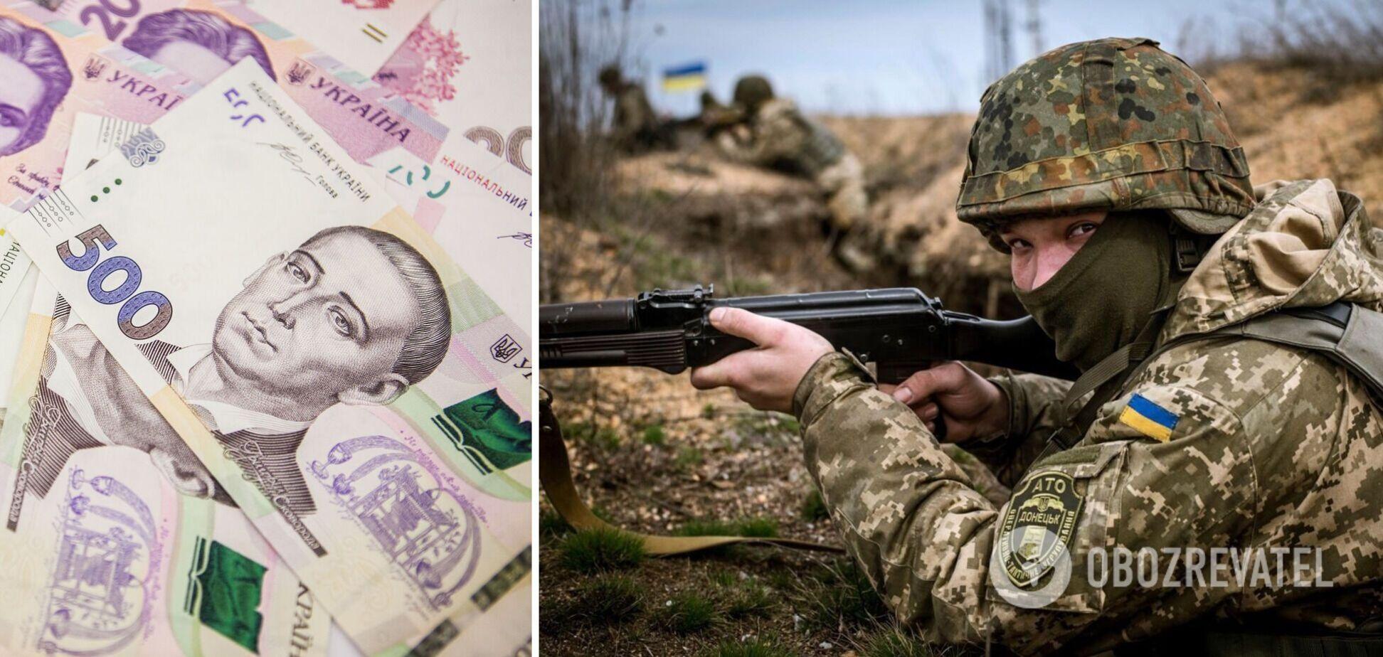 Зарплати рядових на Донбасі можуть перевищувати 30 тис. Гривень