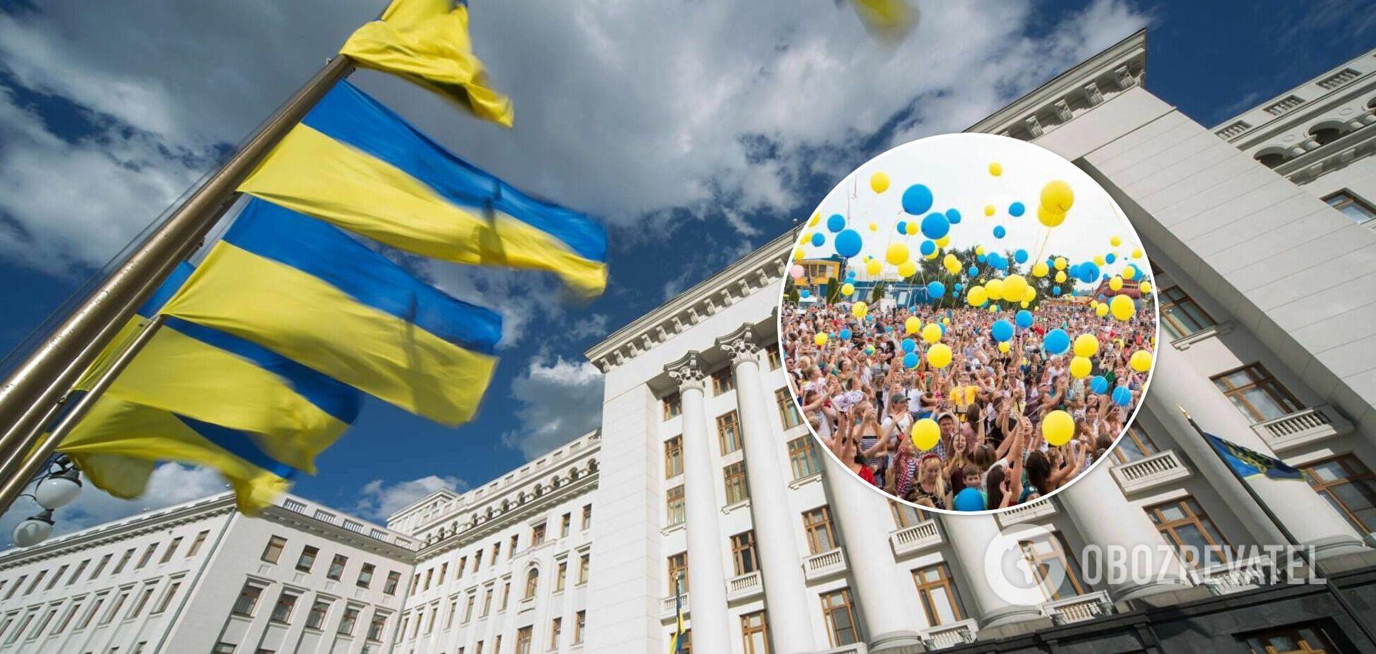 В ОП показали фильм о подготовке ко Дню Независимости и WOW-эффект от Украины