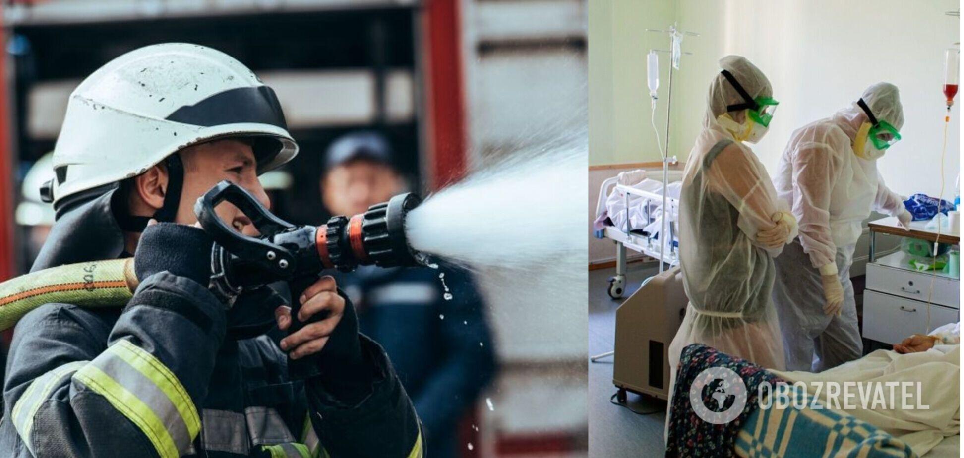 У Росії трапилася смертельна пожежа в COVID-відділенні лікарні: вогонь спалахнув через зарядку