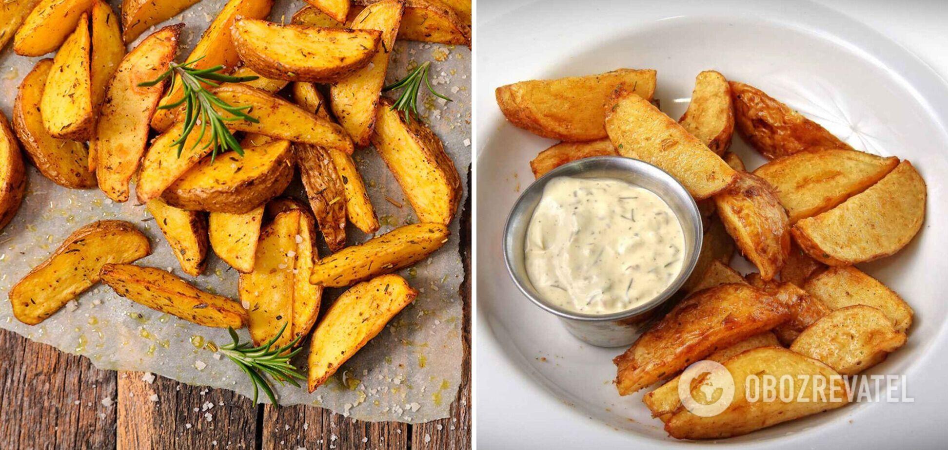 Безупречный картофель по-деревенски: в духовке, микроволновке и на сковороде