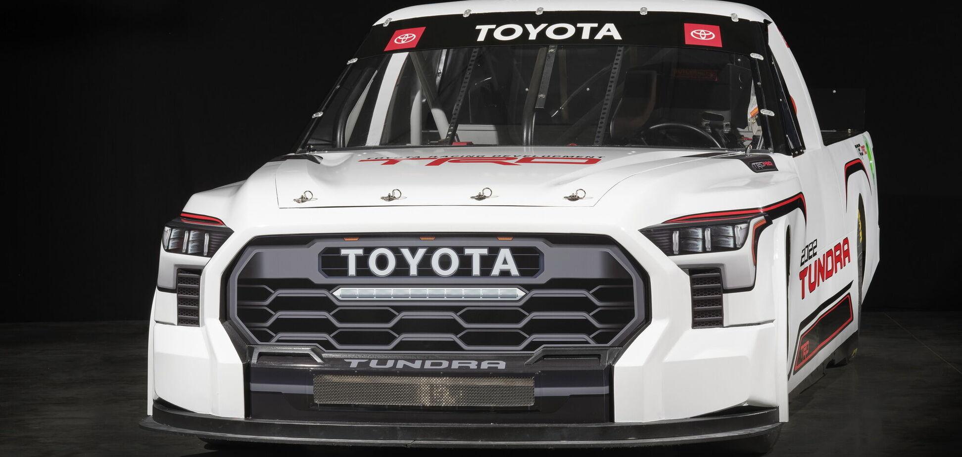 В Лас-Вегасе представили гоночный пикап Toyota Tundra
