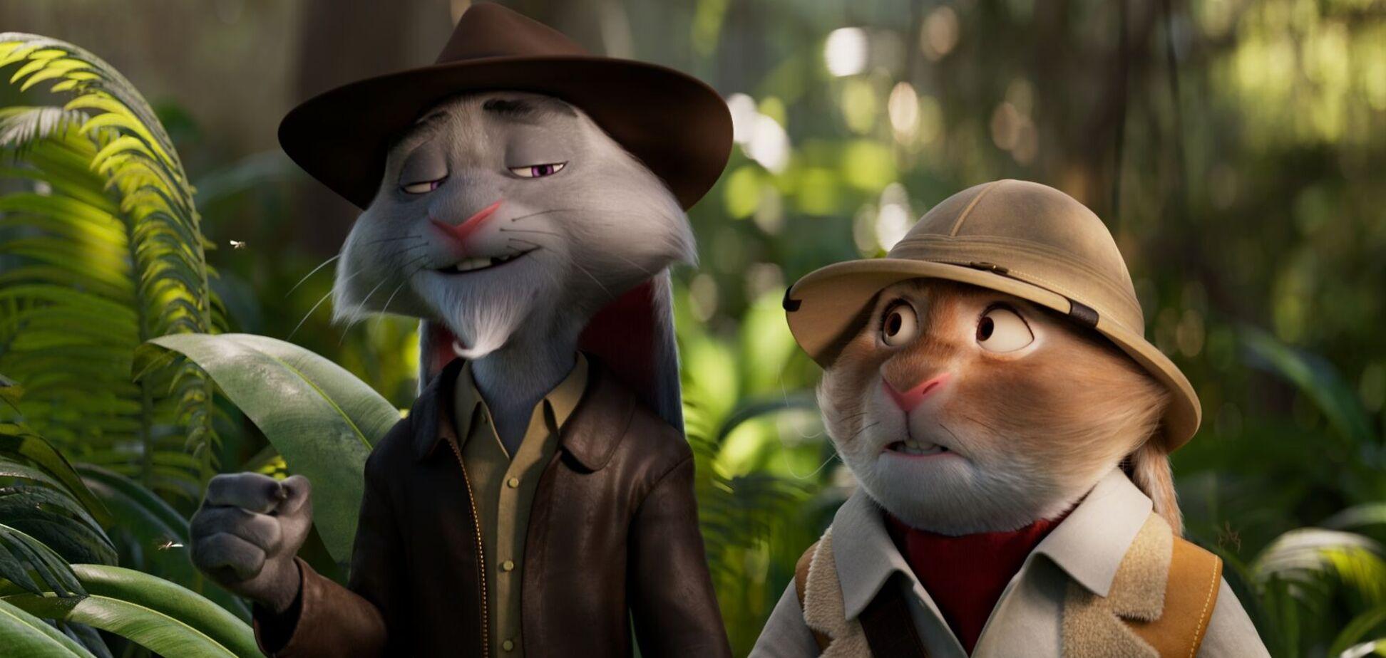 Появился первый трейлер анимационного приключения 'Кролецып и Хомяк Тьмы'. Видео