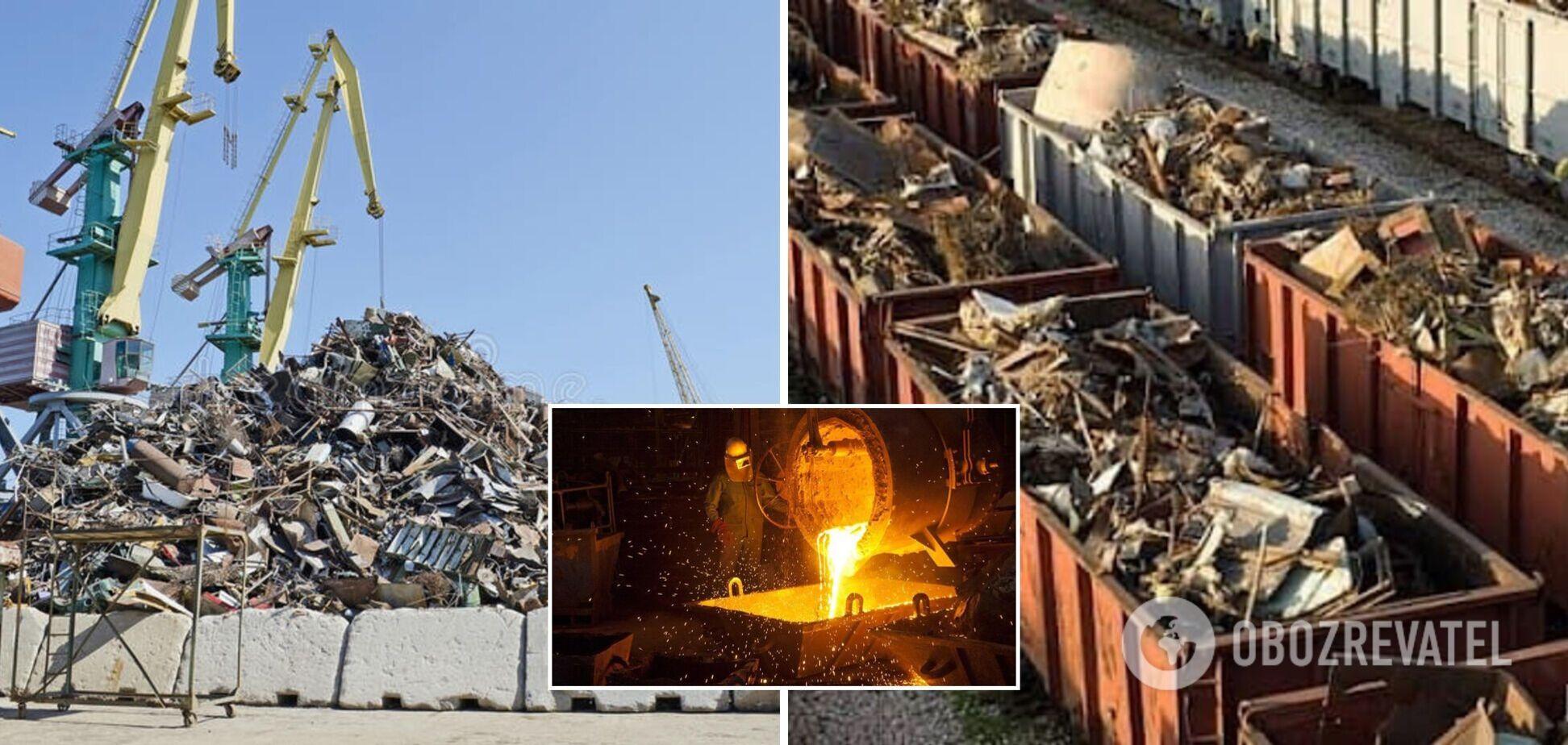 Україна втрачає гроші на експорті металобрухту, необхідно запровадити мораторій на вивезення сировини – нардеп