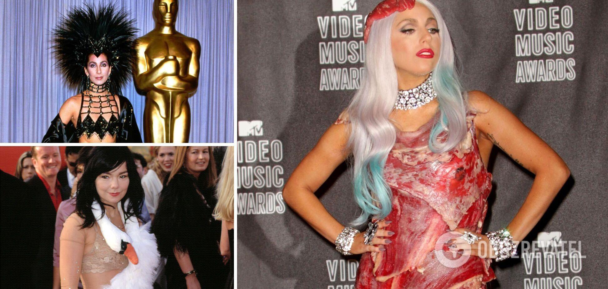 Знаменитые звездные платья стали известными
