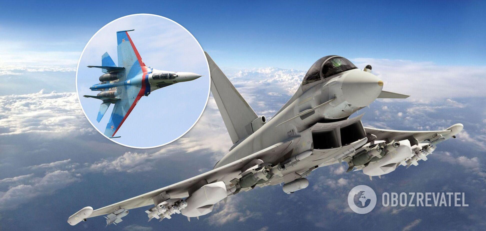 Винищувачі НАТО за тиждень сім разів перехоплювали літаки РФ: з'явилися подробиці