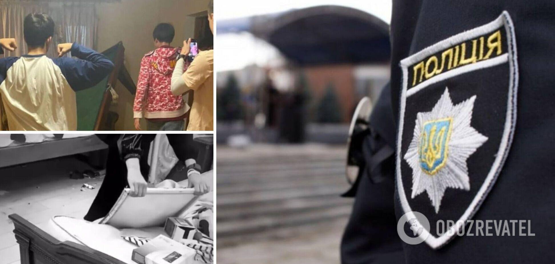 Одна з учасниць погрому будинку під Одесою заявила, що не боїться відповідальності: мама все вирішить. Відео