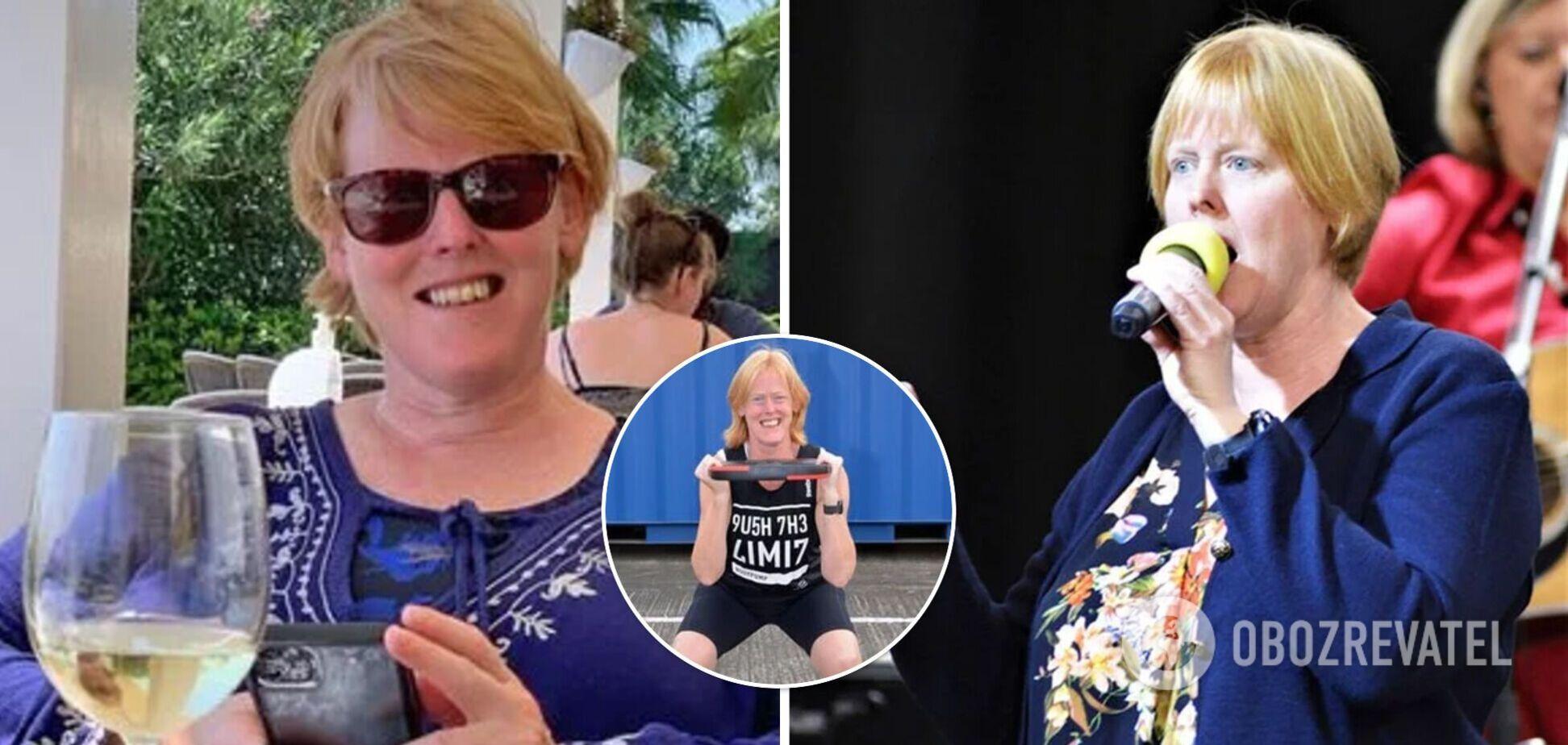 51-річна жінка схудла на 23 кг і змінилася до невпізнання. Фото до і після