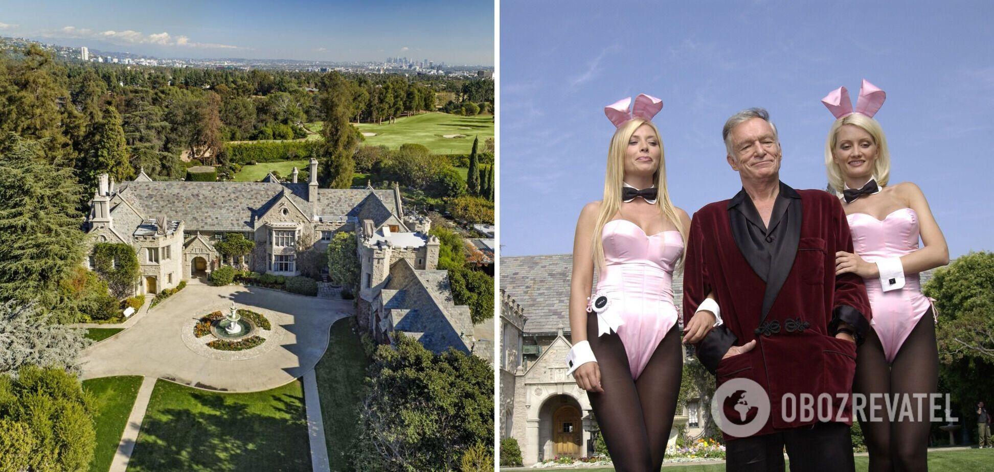 У маєтку Playboy Mansion затіяли багатомільярдний ремонт: як виглядає будинок після смерті Х'ю Хефнера. Фото