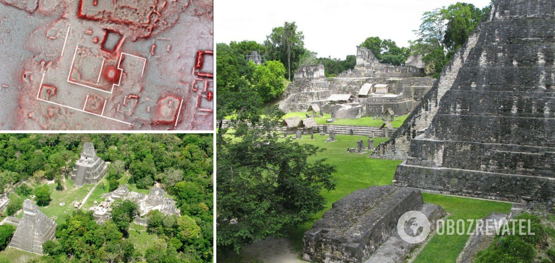 Вчені виявили раніше невідому частину стародавнього міста мая. Фото