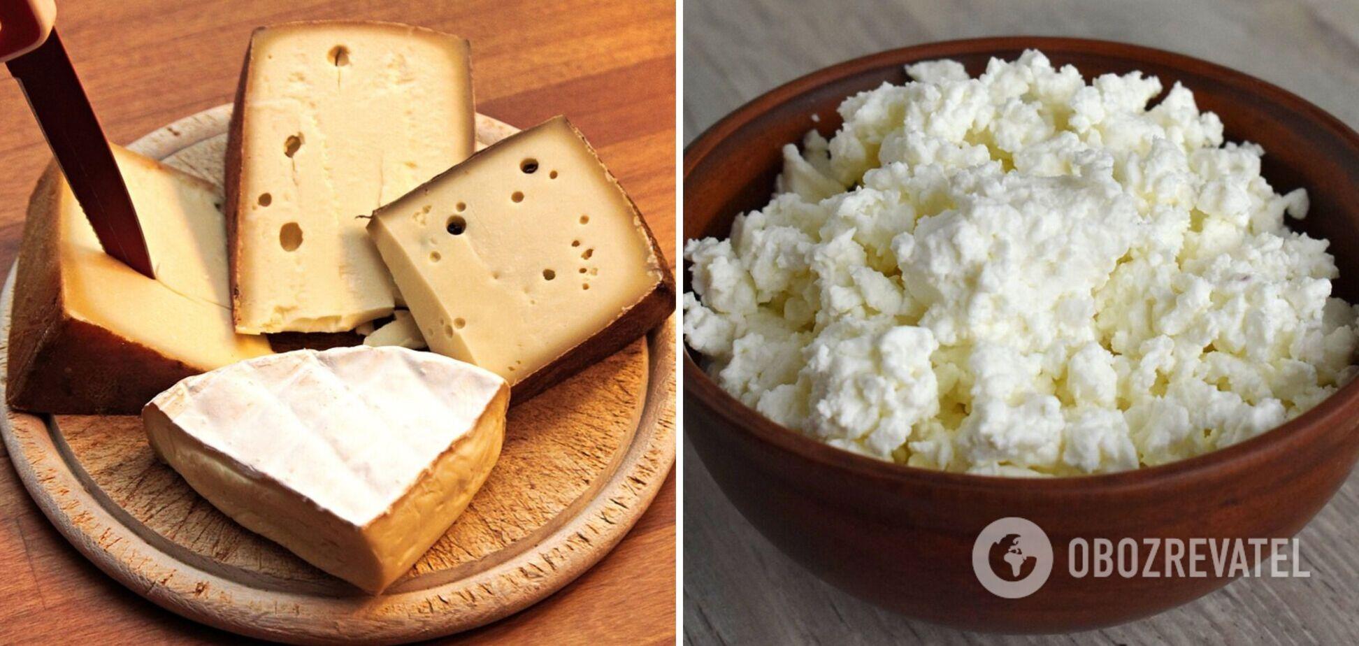 Кому диетологи не рекомендуют есть сыр и творог