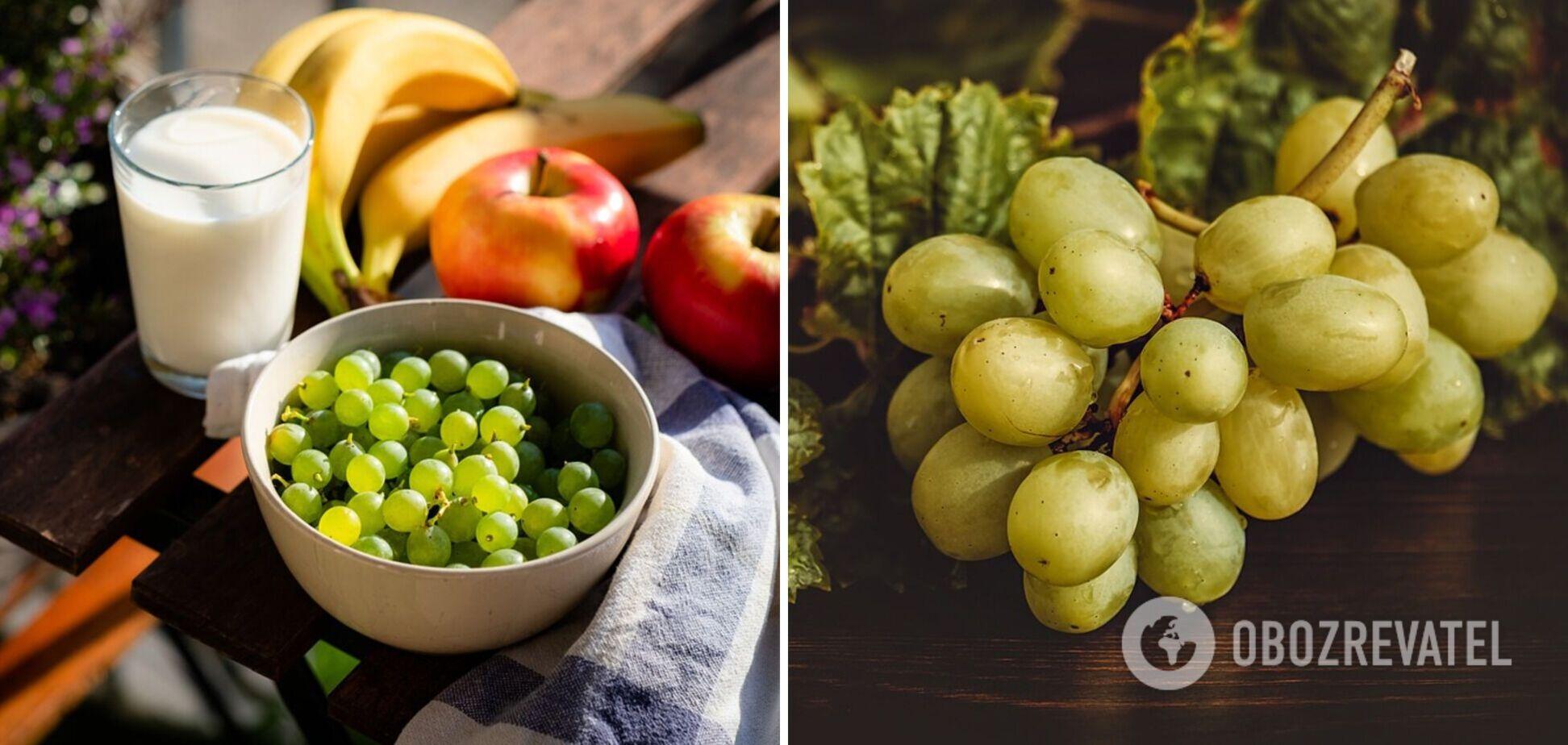 Виноград не всім корисний: кому варто відмовитися – розповідає дієтологиня Наталія Самойленко. Ексклюзив
