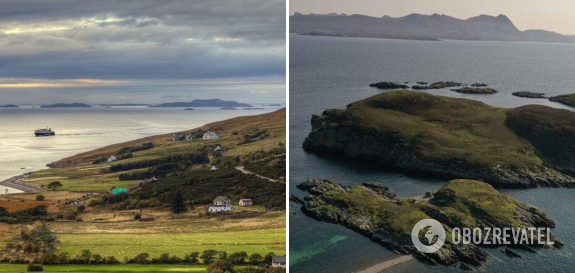 В Шотландии выставили на продажу необитаемый остров за 70 тыс. долларов. Фото и видео