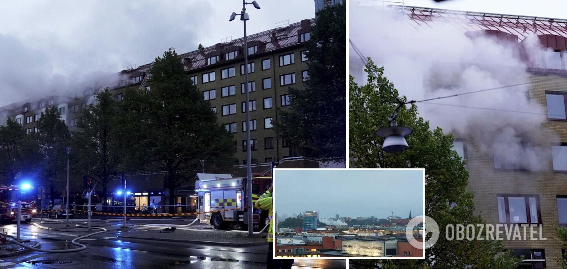 В Швеции прогремел мощный взрыв в многоэтажке, пострадали десятки людей. Фото и видео