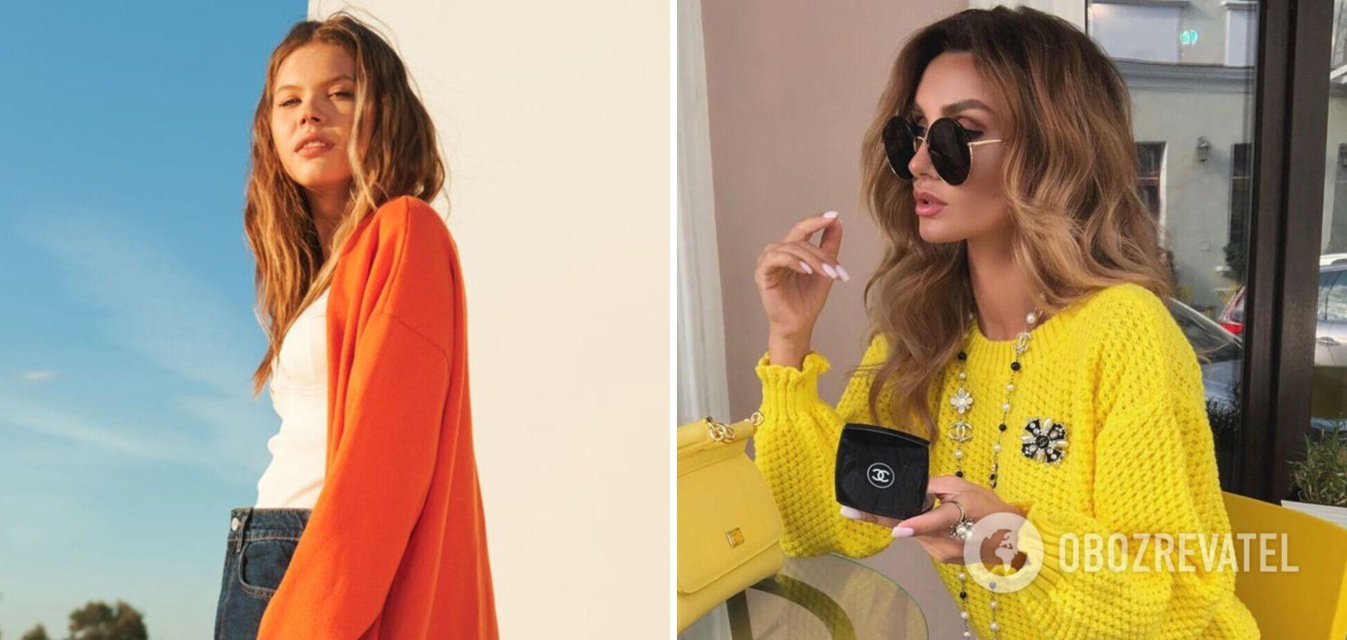 Осенний тренд на трикотаж: что носить и с чем сочетать. Фото