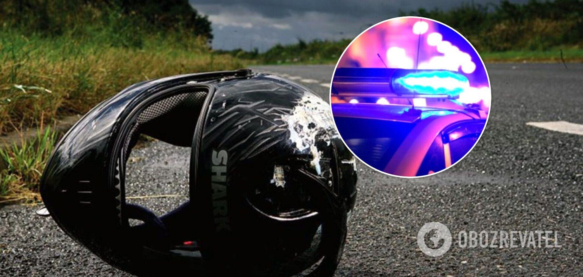 Мотоциклист был в состоянии алкогольного опьянения