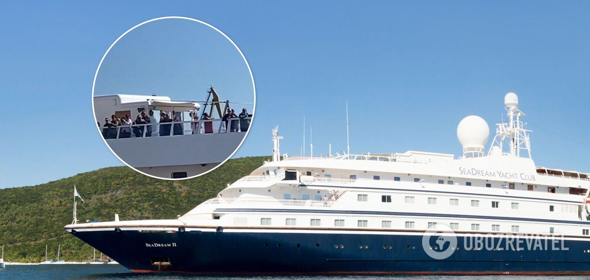 В Одесу вперше за 7 років прибув лайнер преміумкласу з іноземними туристами. Фото і відео