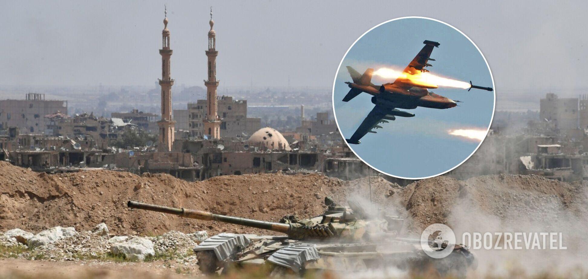 У Сирії невідомий літак атакував базу підтримуваних Іраном ополченців