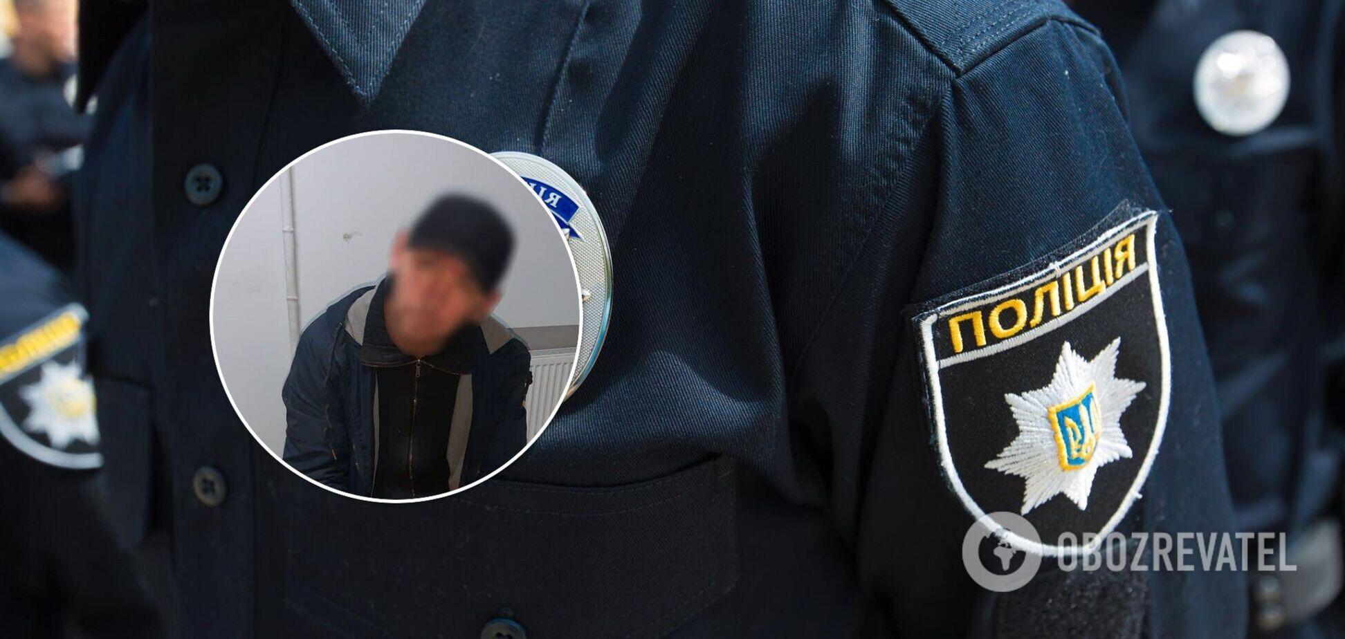 Злоумышленника задержали патрульные полицейские
