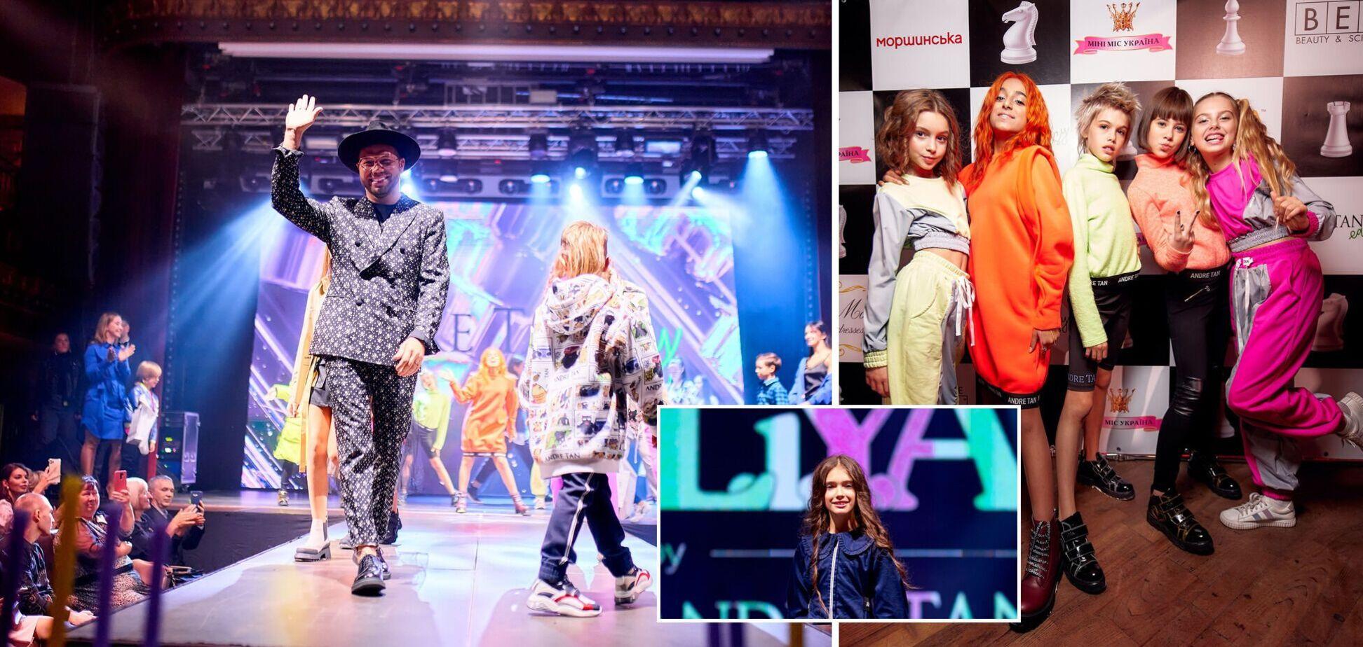Андре Тан совместно с брендом LIYA представил новую коллекцию одежды для подростков. Фото