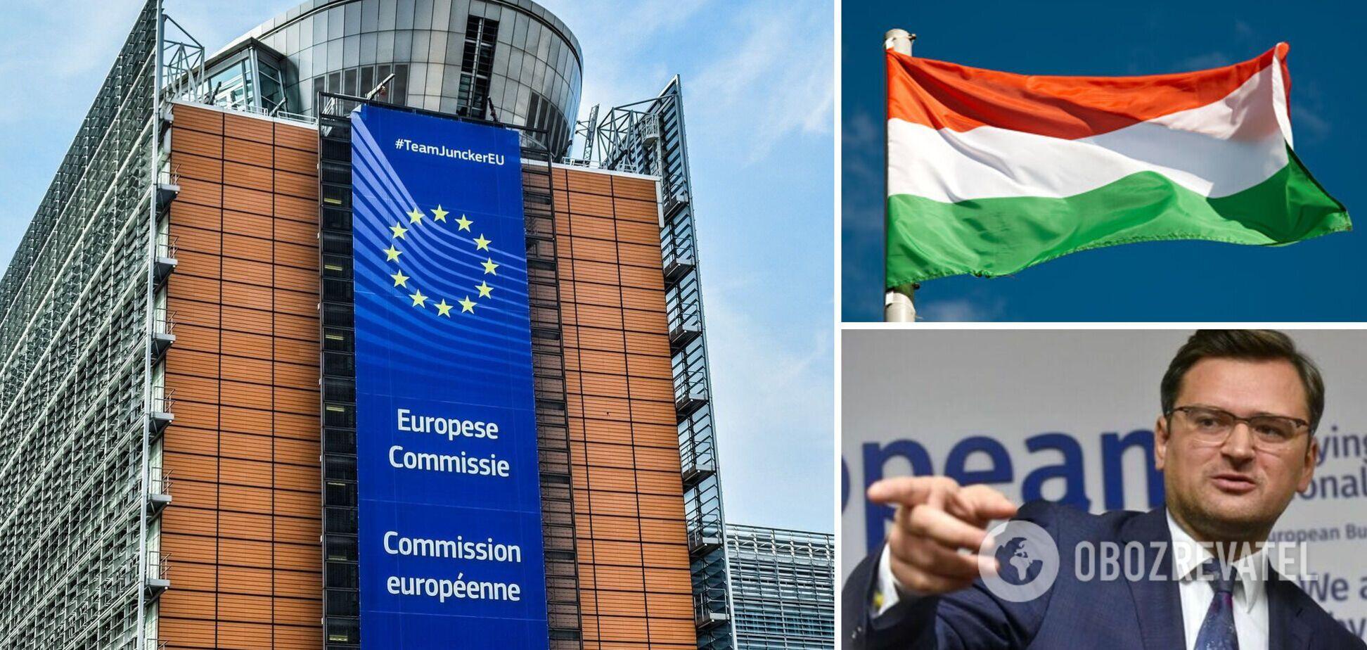 В ЕС решили проверить контракт между 'Газпромом' и Венгрией